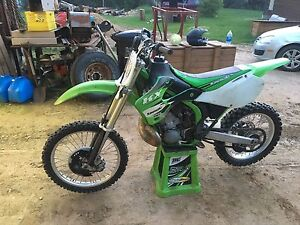 2001 kx250 *NEW ENGINE*