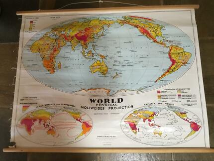 New scratch off world map poster other antiques art vintage world map gumiabroncs Choice Image