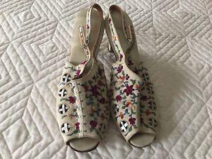 85 year old handmade silk shoes