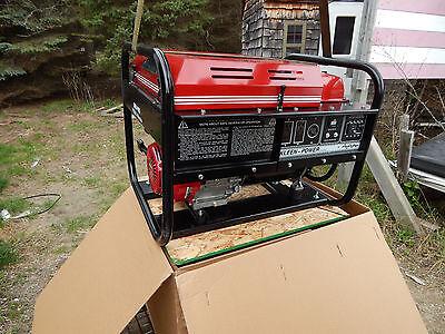 Gillette Gen Pro Generator, 7500 Watts, Honda Motor, New In Box, Pull St. GPE75H (7500 Watt Honda Generator)