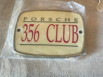 Porsche 356 Club Badge