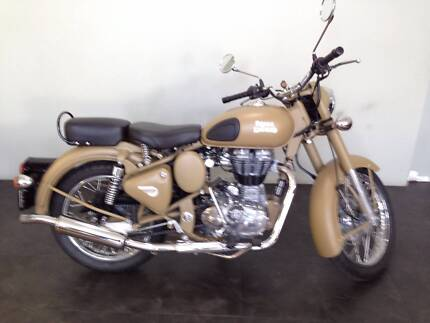 ROYAL ENFIELD CLASSIC 2015 DEMO Burswood Victoria Park Area Preview