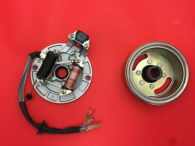 Ignition Magneto Stator Plate & Flywheel for Honda CT70 motorcycle engine