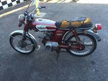 YAMAHA YB 100 1980 WRECK OR RESTORE St Agnes Tea Tree Gully Area Preview