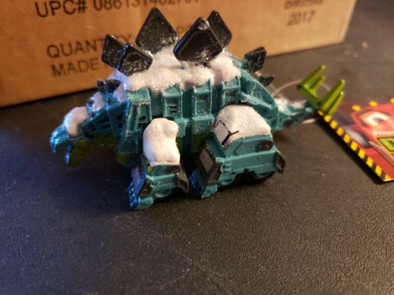 "Kurt Adler Green Dinotrux Garby Ornament Dreamworks Series New 3.5"""