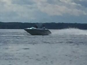 1997 sea doo challanger jet boat and trailer