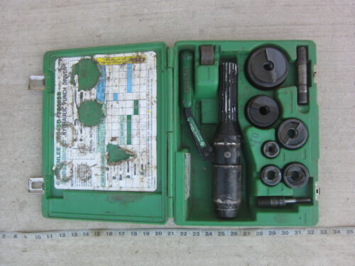 """Greenlee 7906SB ½"""" to 2"""" Hydraulic Punch Diver, Used"""