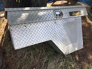 Truck wheel well tool boxes x2