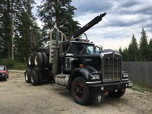 1979 Kenworth W900A logging truck INSPECTED