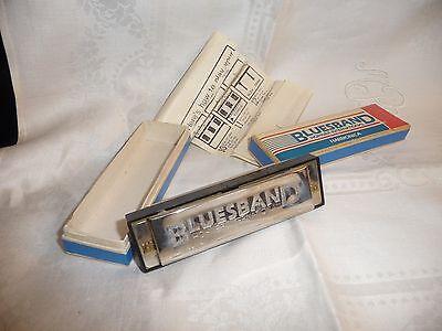 #331 vtg Harmonica 4'' long BLUEBAND w as is Box Hohner