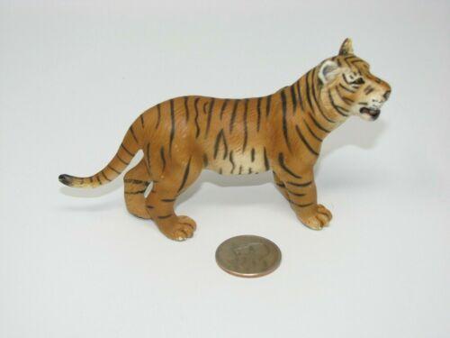 Schleich ORANGE TIGER Adult Wildlife Animal Figure 2003 Toy Retired