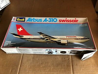 REVELL AIRBUS A-310SWISS AIR PLANE 1:144 MODEL KIT 4229
