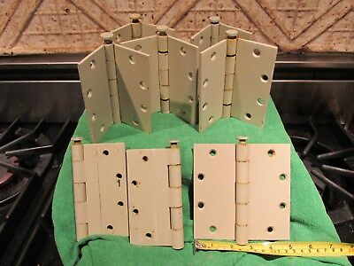 """One Hager USA Steel Mortise Door Hinge 5"""" By 5""""  Standard Weight Clean Pulls"""