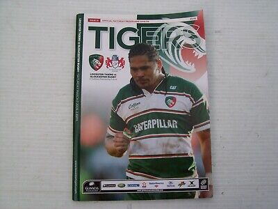 Leicester Tigers Rugby - Official Rugby Match Day Magazines x9 - Free Uk Post
