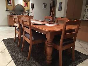 8 piece handcrafted dining room setting Bayview Darwin City Preview