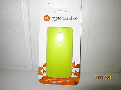 Motorola Color Shell Cover für Moto G 2. Generation Smartphone Lemon ORIGINAL 2. Generation Cover