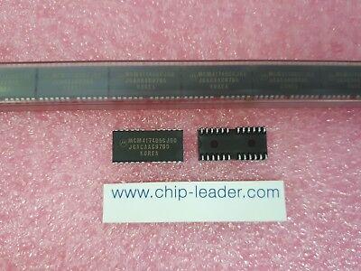 3x Motorola Mcm417405cj60 Ic Edo Dram 4mx4 60ns Cmos Pdso-24