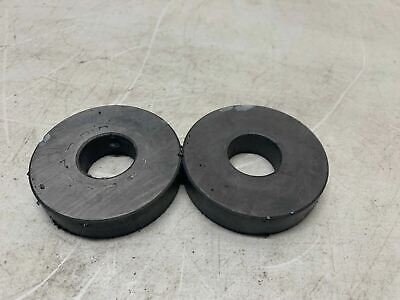 Lot Of 2 Strong Ferrite Magnets From Microwave Magnetron Many Sizes Cool Fun Diy