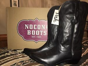 New Black Cowgirl Boots