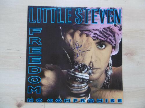 "Little Steven Autogramm signed LP-Cover ""Freedom - No Compromise"" Vinyl"
