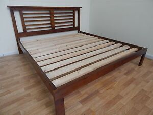 King size wooden bed frame SYDNEY DELIVERY & ASSEMBLY Windsor Hawkesbury Area Preview