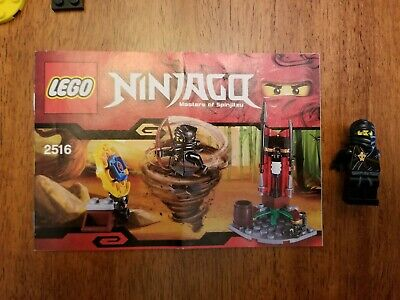 LEGO Ninjago 2516 Ninja Training Outpost Complete w/ Manual 100% complete