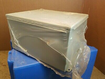 Hoffman A14128ch Stainless Steel Junction Box - Gray New