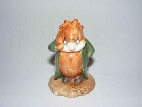 Beswick Beatrix Potter figurine THE HEAD GARDENER in trenchcoat