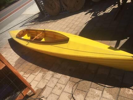 17ft Yellow 2 Person Kayak