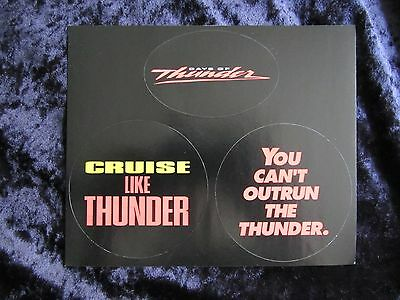 Toms Promotion (Days Of Thunder promotional stickers - Tom)