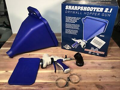 Marshalltown Sharpshooter 2.1 Drywall Texture Hopper Spray Gun Bx2