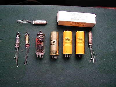 Ersatzröhrensatz / Teilesatz für PRC 8,9 ,10 Funkgeräte