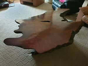Coffee table made from Californian Red Gum