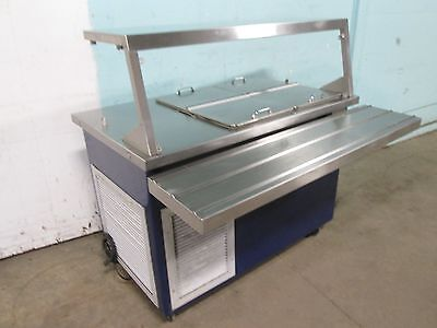 Delfield H.d.commercial Refrigerated Dairy Product Cafeteria Serving Station
