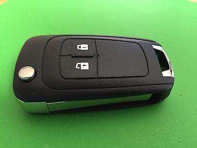 For Vauxhall Insignia Astra 2 Button Remote Flip Key Fob Case Shell Cover