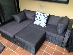 Outdoor corner lounge