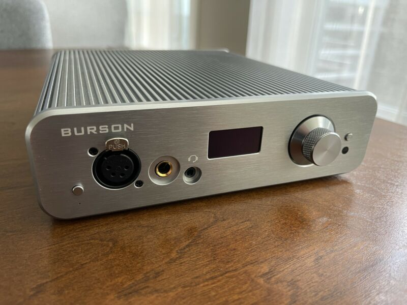 BURSON Audio Conductor 3X Performance Headphone Amp/DAC/Preamp EXCELLENT COND