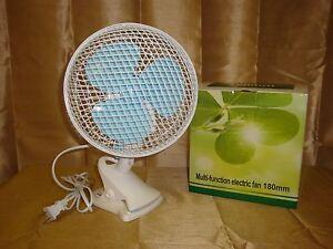 Oscillating Clip Fan Ebay