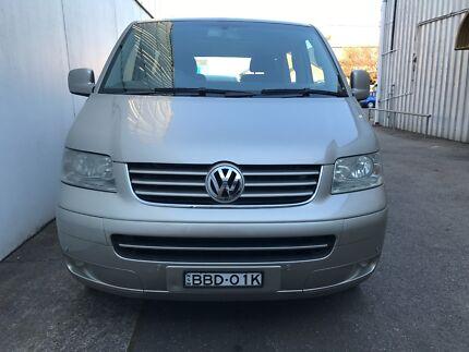 2007 Volkswagen Multivan Van T5 Comfortline Wagon 7st 4dr Spts
