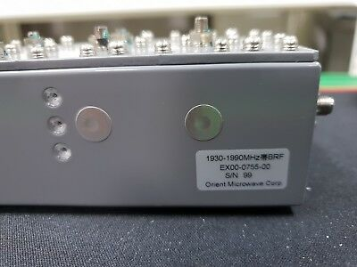 Orient Microwave - Band Reject Filter Ex00-0755-00 1930-1990mhz