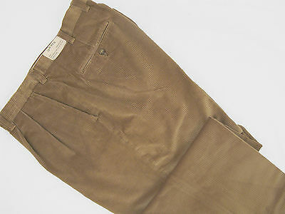 NEW! $179 Orvis Stretch Super Cords Pants!  32  Pleated Front  Light Brown (Orvis Stretch Cord)