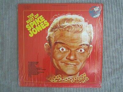 SPIKE JONES ~ THE BEST OF SPIKE JONES  VINYL RECORD LP / 1975 JACK DAVIS