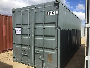 20ft Shipping Container #1764 South Trees Gladstone City Preview