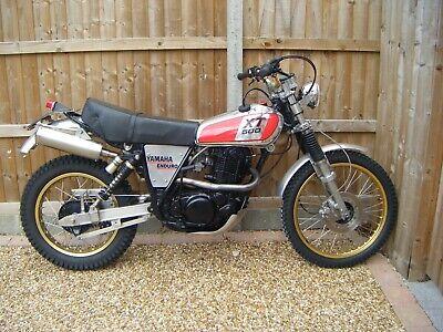 Special Yamaha XT500 Enduro 500cc Trail Bike 1977 S-reg (not import) for sale