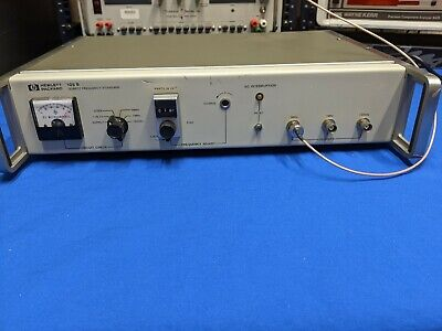 Hewlett Packard Hp 105b Quartz Frequency Standard Fully Tested Adjusted