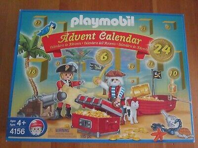 NEW Playmobil Pirate Advent Calendar 4156 Retired 115 Pieces