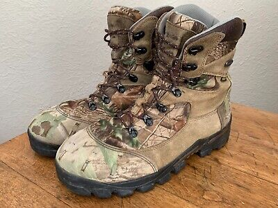Mens Red Wing Irish Setter Camo Hunting Boots 400 gram Thinsulate Size 11