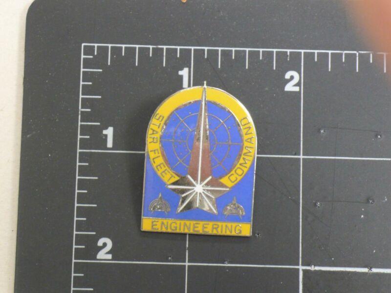 Fantastic  Star Trek Starfleet Engineering Organization Pin