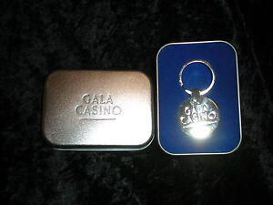 GALA CASINO KEY RING BRAND NEW BOXED UNWANTED GIFT