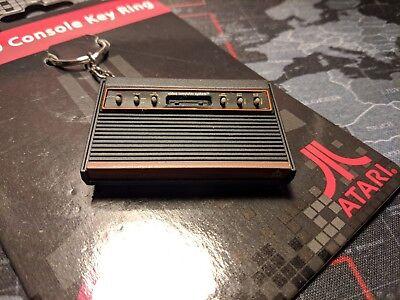 Llavero Atari 2600 NUEVO Consola Keyring CX-2600 NEW Madera Wood cx 2600...